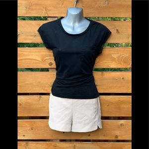 Zara Trafaluc Women Top Small Black Short Sleeve